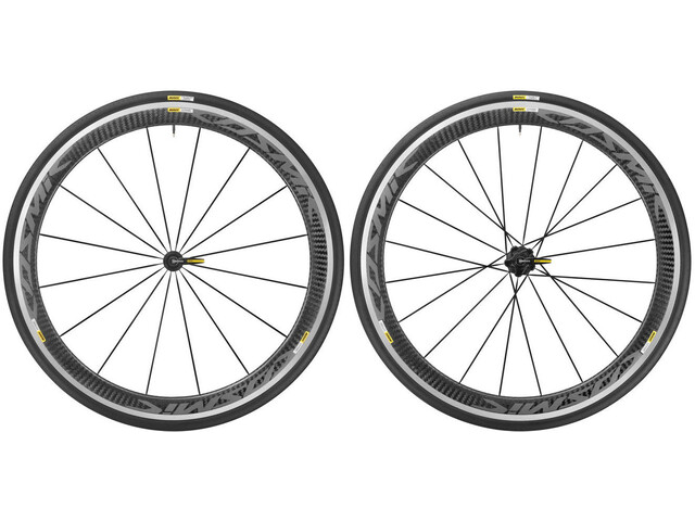 Mavic Cosmic Pro Carbon 17 Wheelset Shimano 25 black